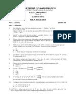 B.sc. (Prac) Mathematics 2010