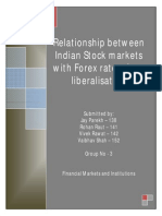 3 - Relationship Between Indian Stock Markets With Forex Rates Since Liberalisation