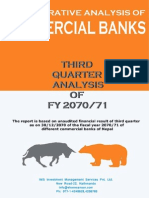 A Comparative Analysis of Commercial Banks