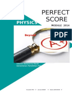Modul Perfect Score SBP Physics SPM 2014