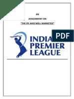 IPL Marketing