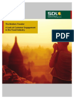 SDL - The Modern Traveler. a Look at the Customer Engagement in the Travel Industry