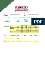 Belt Conveyor Counter Weight Calculation