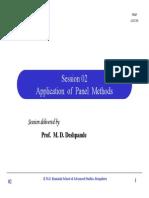 Application of Panel Methods