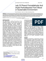 Comparative Study of Phenol Formaldehyde and Urea Formaldehyde Particleboards From Wood Waste for Sustainable Environment