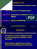 Session I309 Neutron Moderation