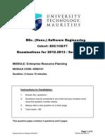 Enterprise Resource Planning(1)