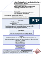 Insulin Guidelines for Type2 Diabetes