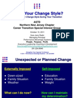 What is Your Change Style - ASTD