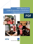 MRV Manual for CDM PoA