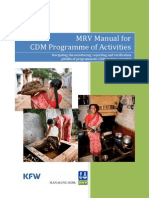 MRV Manual for CDM PoA