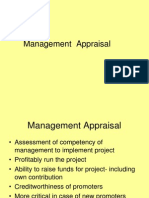 Management Appraisal