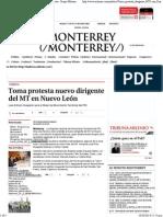 04-10-14 Toma protesta nuevo dirigente del MT en Nuevo León.pdf