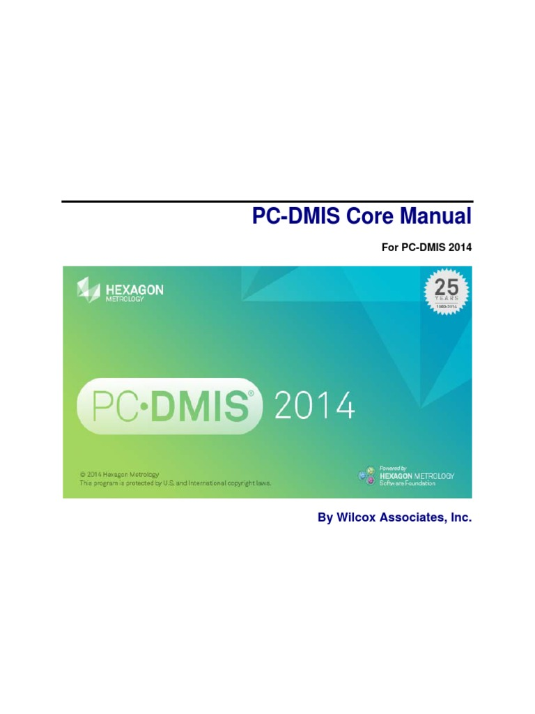 Pc-dmis 2013 mr1 release notes.