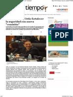 06-10-14 Buscan fortalecer la seguridad con nueva comisión.pdf