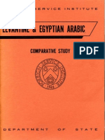 Levantine and Egyptian Arabic 01