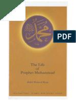 The Life of Prophet Muhammad Abdul Waheed Khan