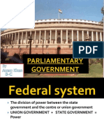 parlimentary government