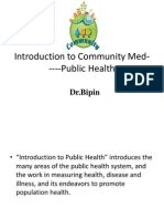 Introduction to Public Health... 1st.ppt