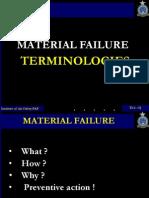 Failure Terminologies