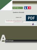 OpinionWay pour CLAI _Metro_LCI-Questions d'actualite-Oct2014.pdf