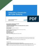 Cyber Bullying - 3er Congreso Internacional Sobre Violencia en Las Escuelas