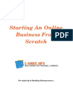 Starting an Online Business From Scratch