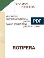 Rotifera Dan Porifera(1)