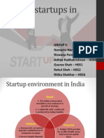 Business Presentations - Exciting Start Ups in India
