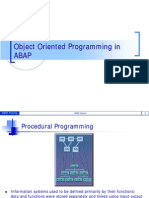 ABAP Object Oriented programming concepts