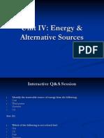 Environment - Energy & Alternative Sources-New