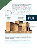 Principales caracteristicas de la arquitectura visigoda.doc