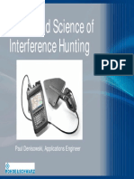 Art and Science of Interference Hunting
