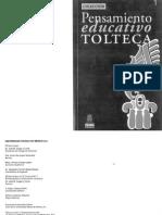 Pensamiento educativo Tolteca 1.pdf