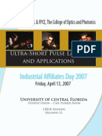 Affiliates Day 2007 Booklet