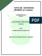 TRABAJO ADMINISTRACION ESTRATEGICA.doc