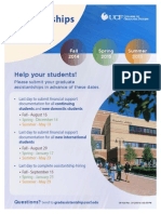 Assistantships Schedule Final Deadlines Flyer 2014-2015 Summer14