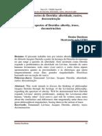 Levinas Espectro de Derrida