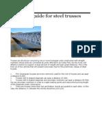 Design guide for steel trusses.docx