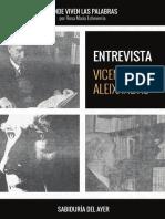 Entrevista a Vicente Aleixandre