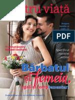 "Revista ""Pentru Viata"" - Nr. 3, Toamna 2014 | Barbatul si femeia, egali si complementari"