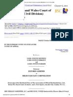 Entores Ltd v Miles Far East Corporation [1955] EWCA Civ 3 (17 May 1955)