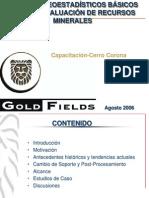 Ejemplos de metodos de estimacion tradicionales de geoestadistica.ppt