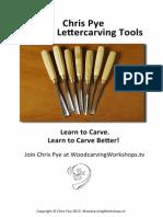 Chris Pye Auriou Lettering Tools