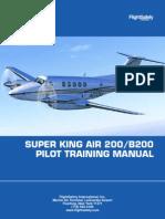 SUPER KING AIR 200/B200 PILOT TRAINING MANUAL