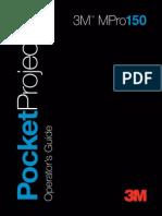 MANUAL PROYECTOR 3M MPRO 150.pdf