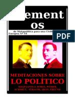 Elementos Nº 44. LO POLÍTICO.doc