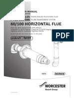 60 100 Horizontal Flue Instructions