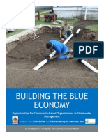 Organizations in Stormwater Management Building the Blue Economy April 2014
