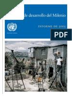 Objetivos de Desarrollo del Milenio. Informe de 2005. Naciones Unidas.